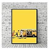 AZTeam Little Miss Sunshine Poster Filmkunst Leinwand