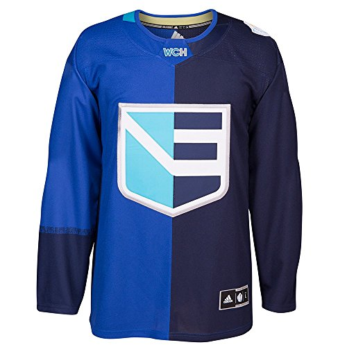 adidas Team Europe 2016 World Cup of Hockey Men's Premier Navy Jersey Trikot