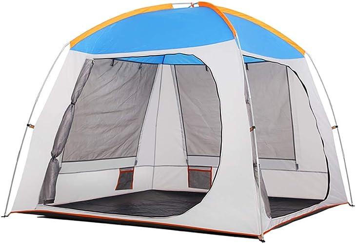 Wangkai Tente Tissu Imperméable Mat Résistant a la Pluie pour Tente Extérieure Adapté a la Pêche en Camping