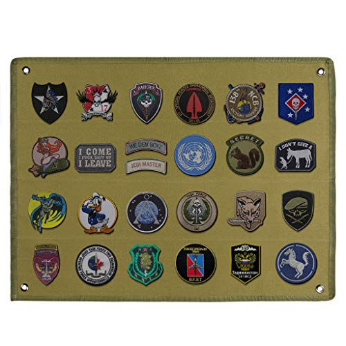 Skelang Velcro Board, Patch Holder, Patch Display Panel Board for...
