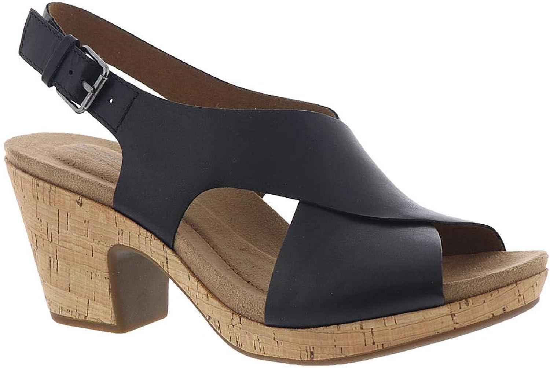 Cobb Hill Rockport Alleah Sling Sandale für Damen, Schwarz (schwarz), 40 EU