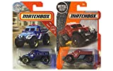 Matchbox MBX Rescue Road Raider 2 Pack Bundle