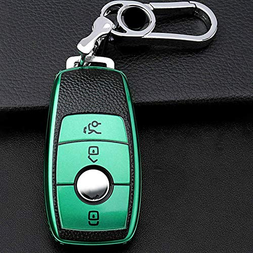 Portachiavi per auto , Per Mercedes Benz E C G M R S Class 204212216 SLS SLK GLK CLK E300