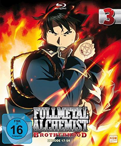 Fullmetal Alchemist: Brotherhood - Vol. 3 (Digipack im Schuber mit Hochprägung und Glanzfolie) [Blu-ray] [Limited Edtion] [Limited Edition]