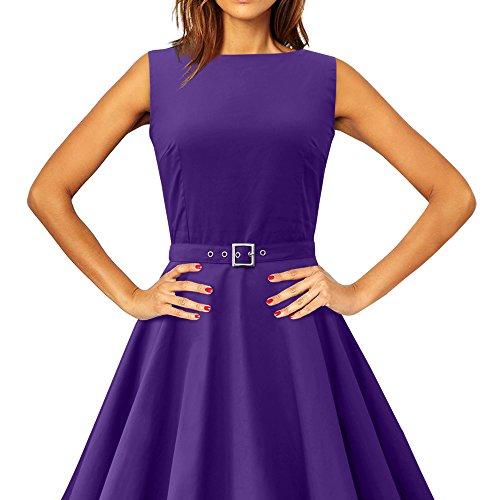 'Audrey' Vintage Clarity Kleid im 50er-Jahre-Stil - 3