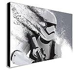 Star Wars Stormtrooper Kunstdruck auf Leinwand verschiedene Größen