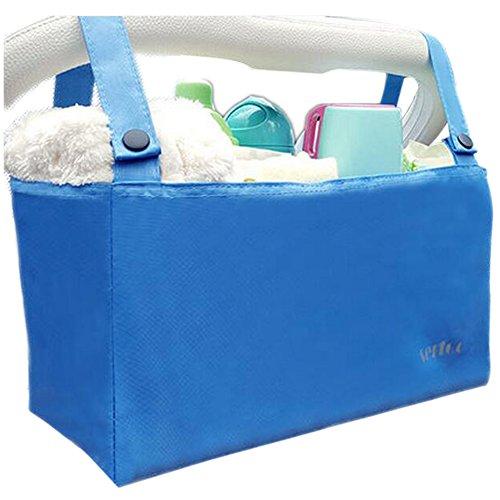 Accessoire pour poussette bébé, organisateur de poussettes [Bleu]