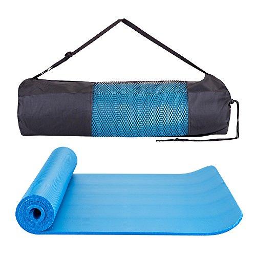 Masione––Esterilla Turn suelo Esterilla Para Yoga Pilates deporte Fitness Gimnasia Entrenamiento Gimnasia Estiramiento con bolsa 183× 61× 1