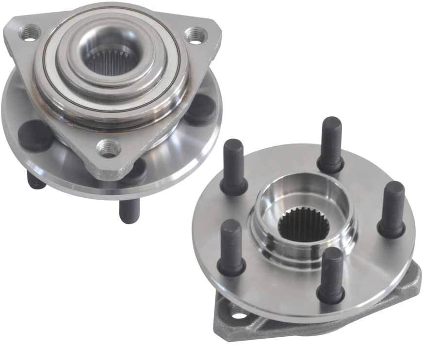 DRIVESTAR Front 513117 513138 Wheel Hub /& Bearing Assembly Driver//Passenger 5 Bolts for Chrysler Dodge Plymouth fits only some Engine