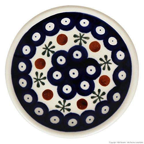kleiner Original Bunzlauer Keramik Teller (Untertasse) Ø11,6 cm Dekor 41