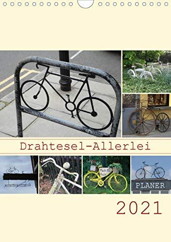 Drahtesel-Allerlei/Planer (Wandkalender 2021 DIN A4 hoch)