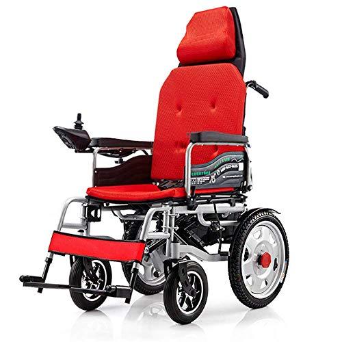FTFTO Inicio Accesorios Ancianos Discapacitados Patinete eléctrico Plegable Ligero para Silla de Ruedas con Controlador y Frenos auxiliares para discapacitados y Ancianos Movilidad A
