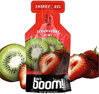 Boom Nutrition - Carb Boom Energy Gel - Fruit-Flavored Energy Gels - Workout Gel - Energy Gel for Cycling - Running Gel - ...