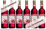 WERDER 6 x Fruchtwein Himbeere 0