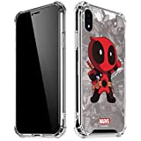 Skinit Clear Phone Case for iPhone XR - Officially Licensed Marvel/Disney Deadpool Hello Design