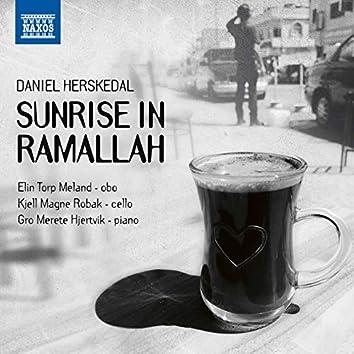 Sunrise in Ramallah