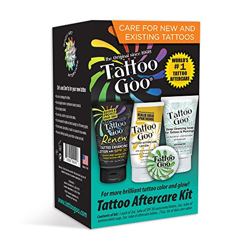 Tattoo Goo Aftercare Kit- Best Soap to Use for Tattoo Aftercare