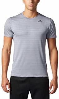 adidas Men's Climalite Energy Running Nova Training Short Sleeve Tee
