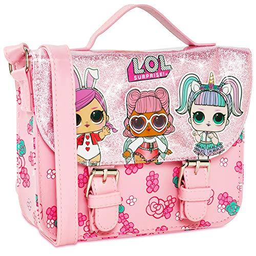 L.O.L. Surprise! Mädchen Handtasche für Kinder – LOL Toys for Girls Pink Crossbody Handtasche...