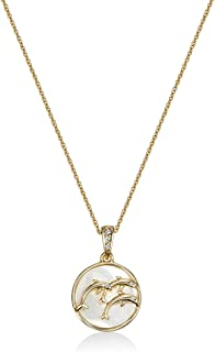 Mestige Gold Plateden Maui Necklace for Women (MSNE3584)