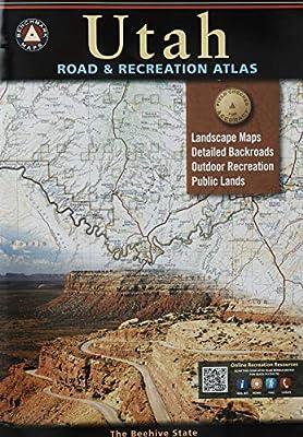 Utah Road & Recreation Atlas (Benchmark Maps) (Benchmark Recreation Atlases) from Benchmark Maps