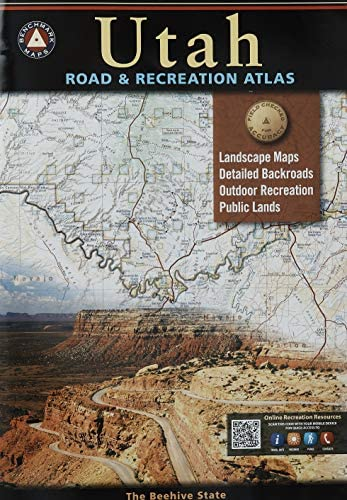 Utah Road Recreation Atlas Benchmark Maps Benchmark Recreation Atlases product image