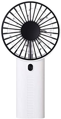 Multiple Power Supply Portable USB Handheld Rechargeable Fan Color : Pink USB Charging BNSDMM Spray Cooling