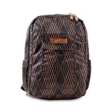 JuJuBe   MiniBe Lightweight School Backpack, Travel-Friendly, Organization Pockets   Kids or Adults   Prism Rose