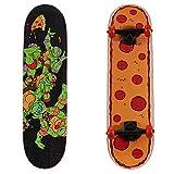 PlayWheels Teenage Mutant Ninja Turtles 28' Skateboard, Radical Pizza