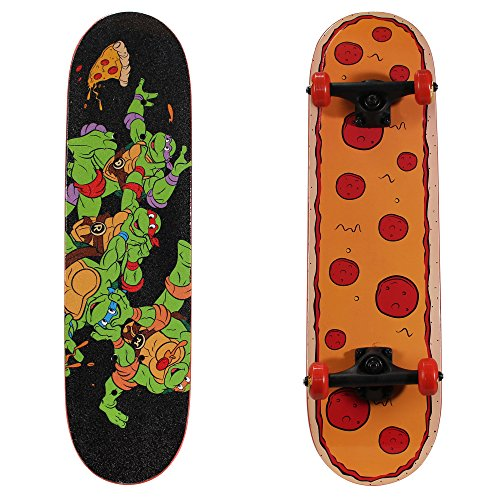 PlayWheels Teenage Mutant Ninja Turtles 28quot Skateboard Radical Pizza