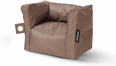 Sit Joy Basic Square Zitzak.Textile Warehouse Light Pink 100 Cotton Cube Stool Seat Pouffe