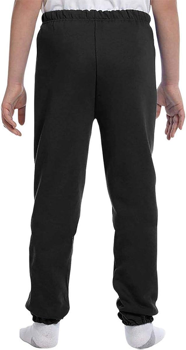 Adolescentes Chicos Ni/ñas Pantalones de ch/ándal Pantalones Deportivos Deportivos o Loungewear de Fondo Drag/ón Yin y Yang