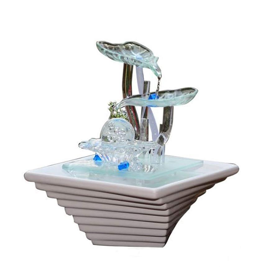 注ぎます通行人スモッグ加湿器ホームデスクトップの装飾セラミックガラス工芸品の装飾品噴水装飾品バレンタインデー結婚式の誕生日パーフェクトギフト