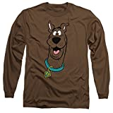 Scooby Doo - Mens Scooby Doo Long Sleeve T-Shirt, Size: Large, Color: Coffee