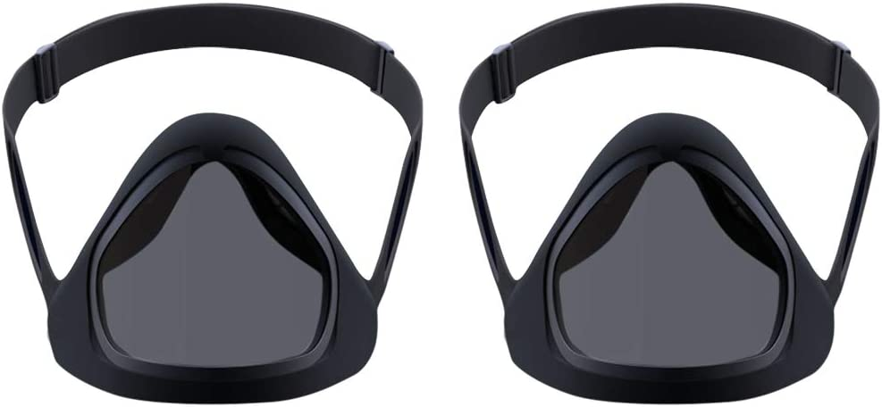 Reusable Safety Cover Suitable for Deaf And Hard of Hearing People Silicone Detachable Transparent Anti-Fog Shield Lips Visible