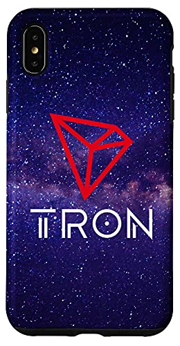 iPhone XS Max TRX Coin Cryptocurrency 3.0 TRON Technology Case