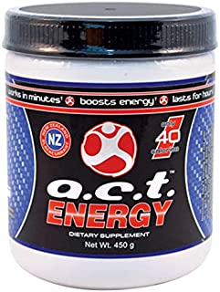 1 Canister ACT Energy Natural Healthy Energy Drink 40 Calories A.C.T. By Youngevity (Ships Worldwide) Net Wt. 450g