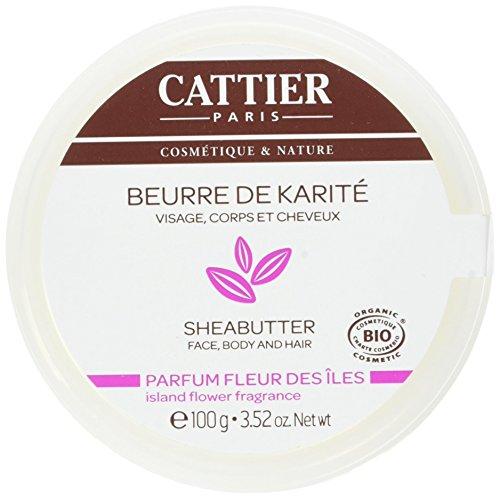 Cattier Beurre de Karité Parfum Fleur des Iles 100 g