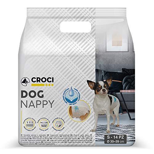 Croci Perro pañales, pequeñas, Pack de 14