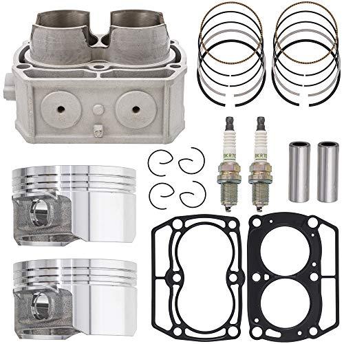 NICHE Cylinder Piston Gasket Kit for Polaris Ranger Crew 800 RZR 800 Sportsman 700 800