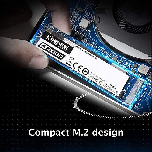 Kingston A2000 (SA2000M8/500G) NVMe PCIe SSD 500G, 500 GB