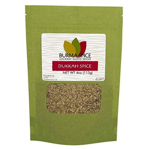 Dukkah Spice | Egyptian Nut and Spice Blend | Use as an All-Purpose Seasoning, Added to Dips, Salads, Vegetables 4 oz.