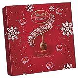 Lindt LINDOR - Mini calendario de adviento para amantes del chocolate con leche, 109 g