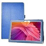 LFDZ Funda TECLAST M30,Soporte Cuero con Slim PU Funda Caso Case para 10.1' TECLAST M30 Tablet,Azul