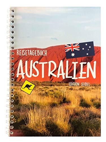 Edition Seidel Reisetagebuch Australien A5 Ringbuch mit 76 Seiten Packliste ToDo Zitate Fun Facts