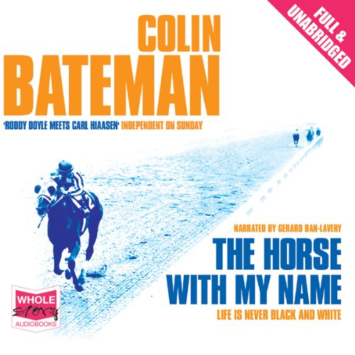 The Horse with My Name audiobook cover art