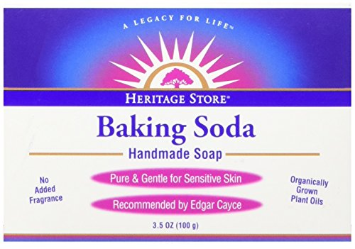Baking Soda Soap Heritage Store Bar,1 Count,Pack of 1