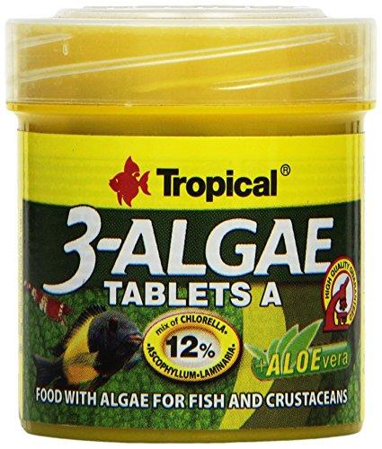 TROPICAL 3-Algae Tablets A, 1er Pack (1x 50ML)