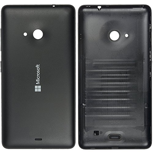 Microsoft 8003489 - Tapa trasera para Nokia Lumia 535, color negro