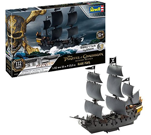 Revell of The Caribbean Maquette Black Pearl Pirate des Caraïbes-La...